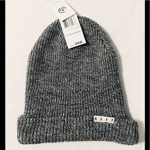 Neff Fold Heather Beanie UNISEX Hat One Size New